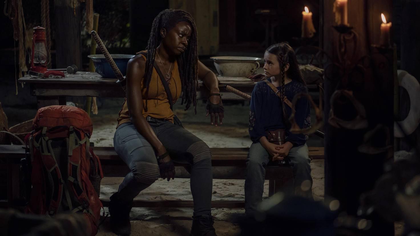 The Walking Dead-S10E08-Michonne-Judith-Gene Page-AMC