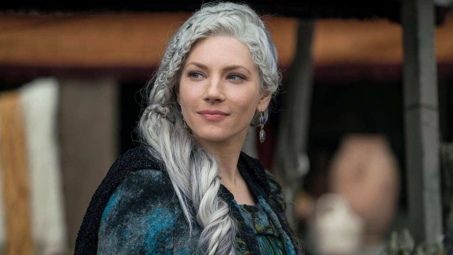 Vikings Katheryn Winnick als Lagertha
