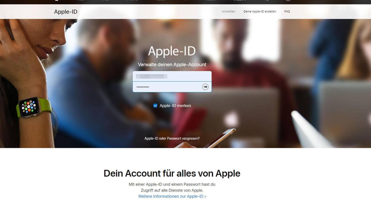 apple-id-wechseln