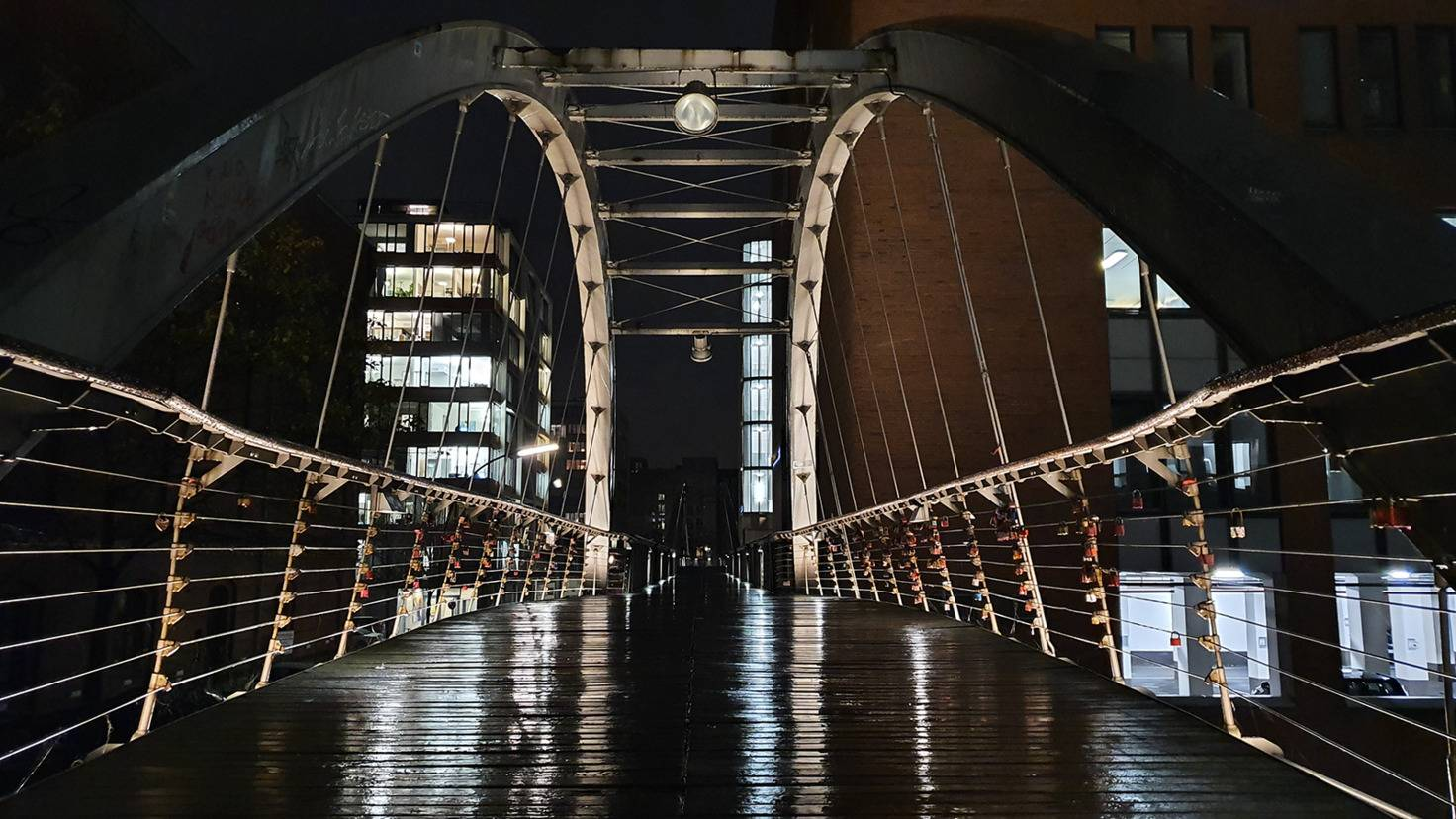 Galaxy Note 10 Brücke ohne Nachtmodus