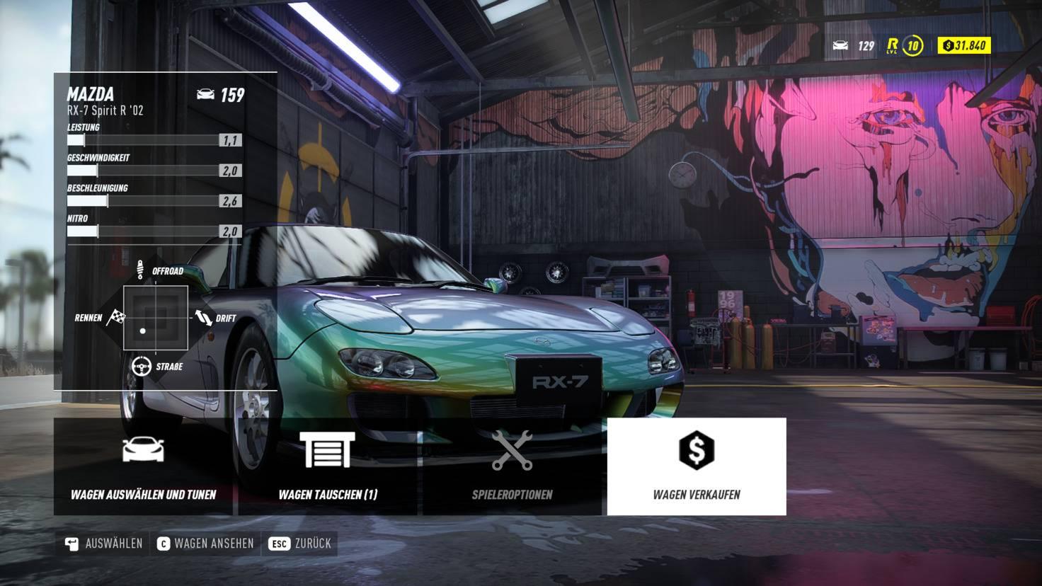 need-for-speed-heat-auto-verkaufen