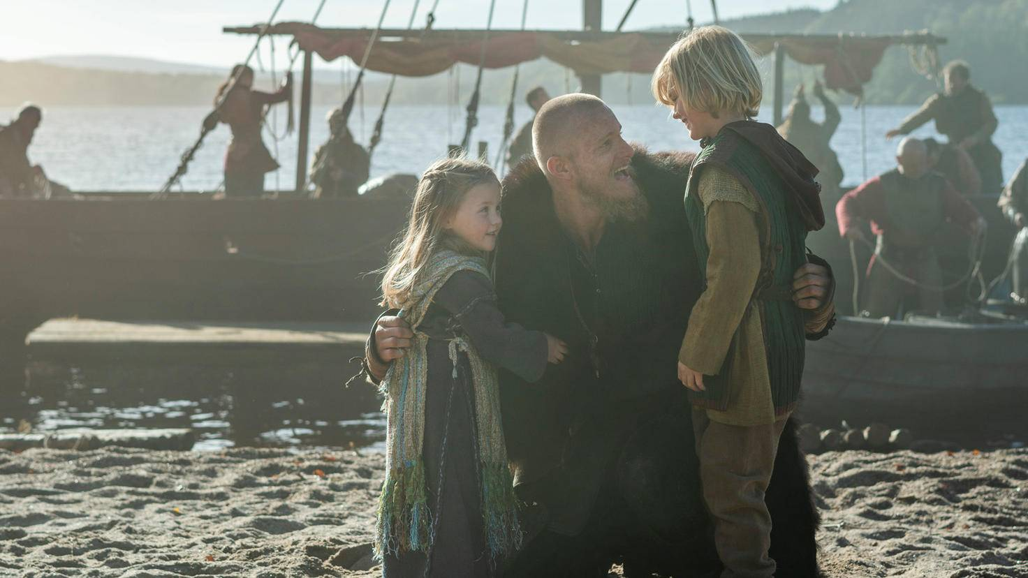 Bjorn Hali und Asa Vikings Staffel 6