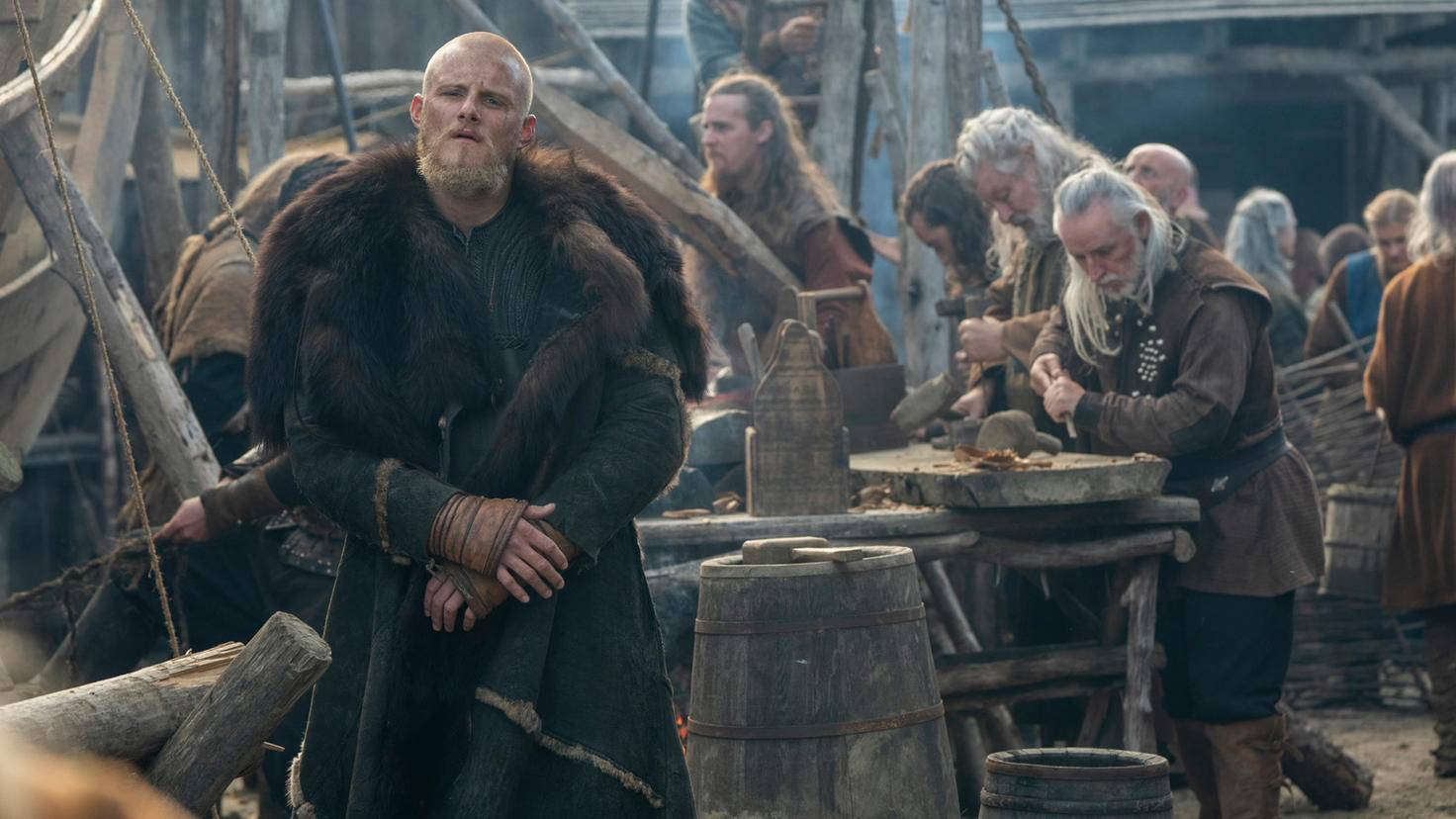 Bjorn in Vikings Staffel 6