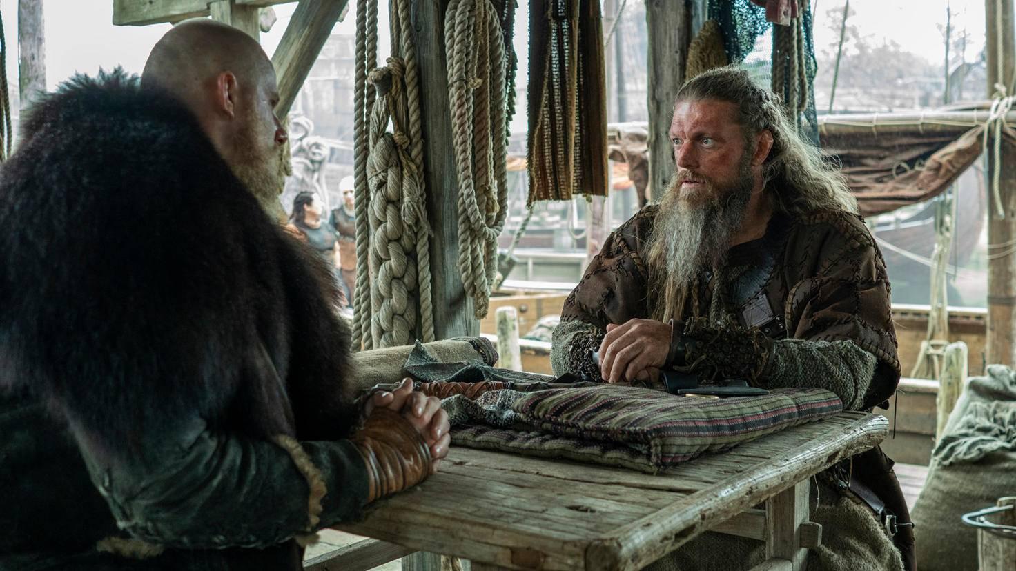 Bjorn und Kjetill in Vikings Staffel 6
