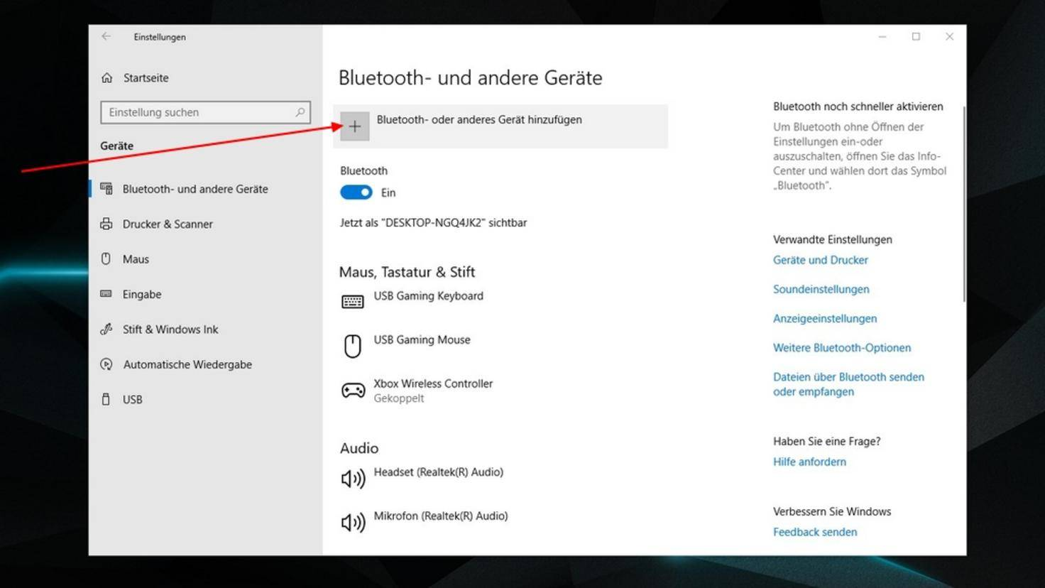 Bluetooth-Windows