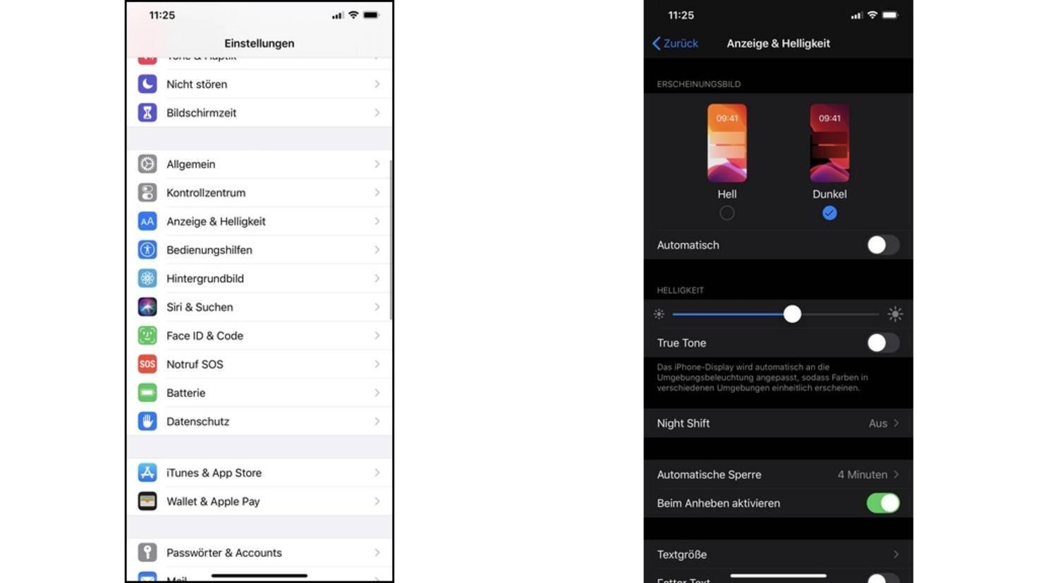 Dark-Mode-iOS