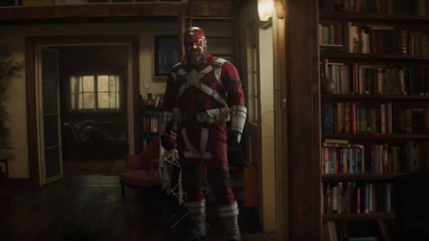 David Harbour als Red Guardian in Black Widow