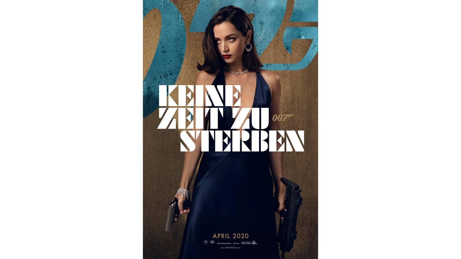 James Bond Keine Zeit zu sterben Ana de Armas Charakterposter