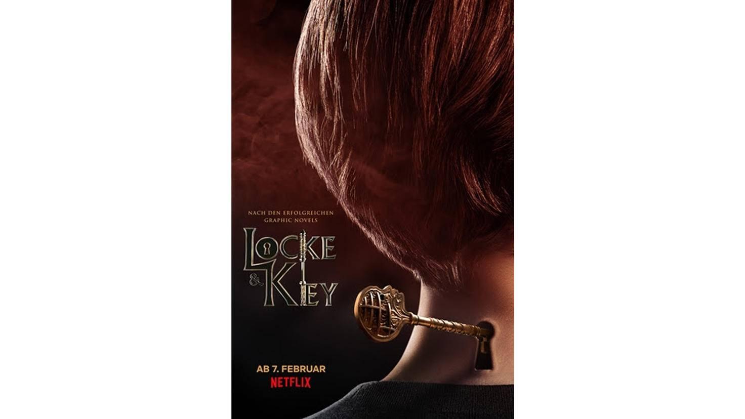 Netflix-Serie Locke and Key Keyart