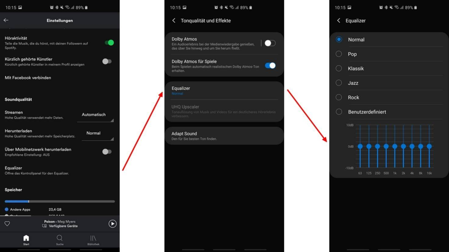 Spotify-Equalizer-Android