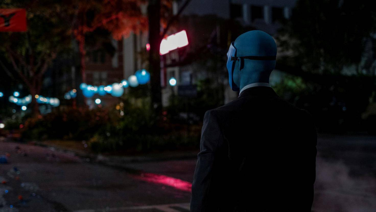 Watchmen-Manhattan-Maske