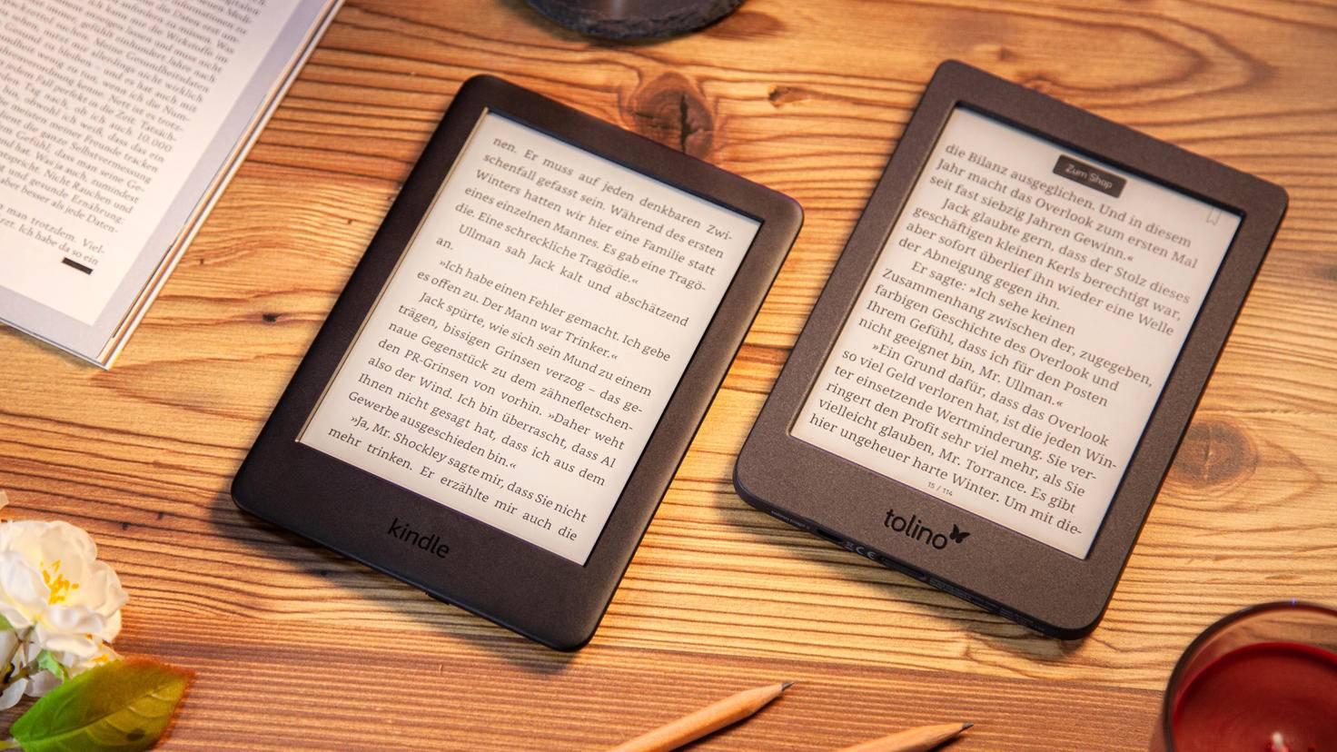 Amazon Kindle 2019 vs Tolino page 2