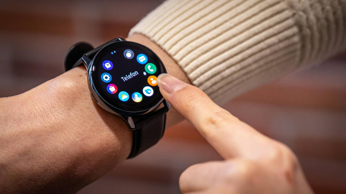 Samsung Galaxy Watch Active 2: Digitale Lünette