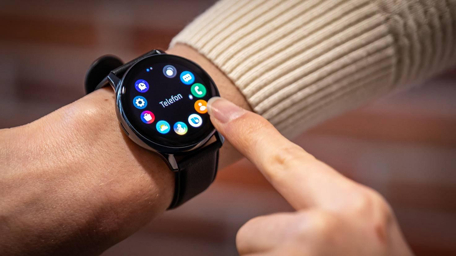 Samsung Galaxy Watch Active 2: Digitale Lünette