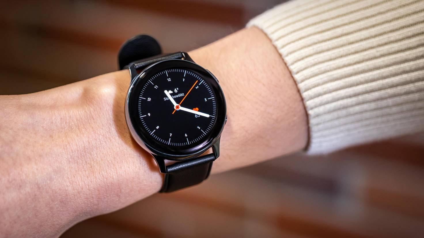 Display der Samsung Galaxy Watch Active 2