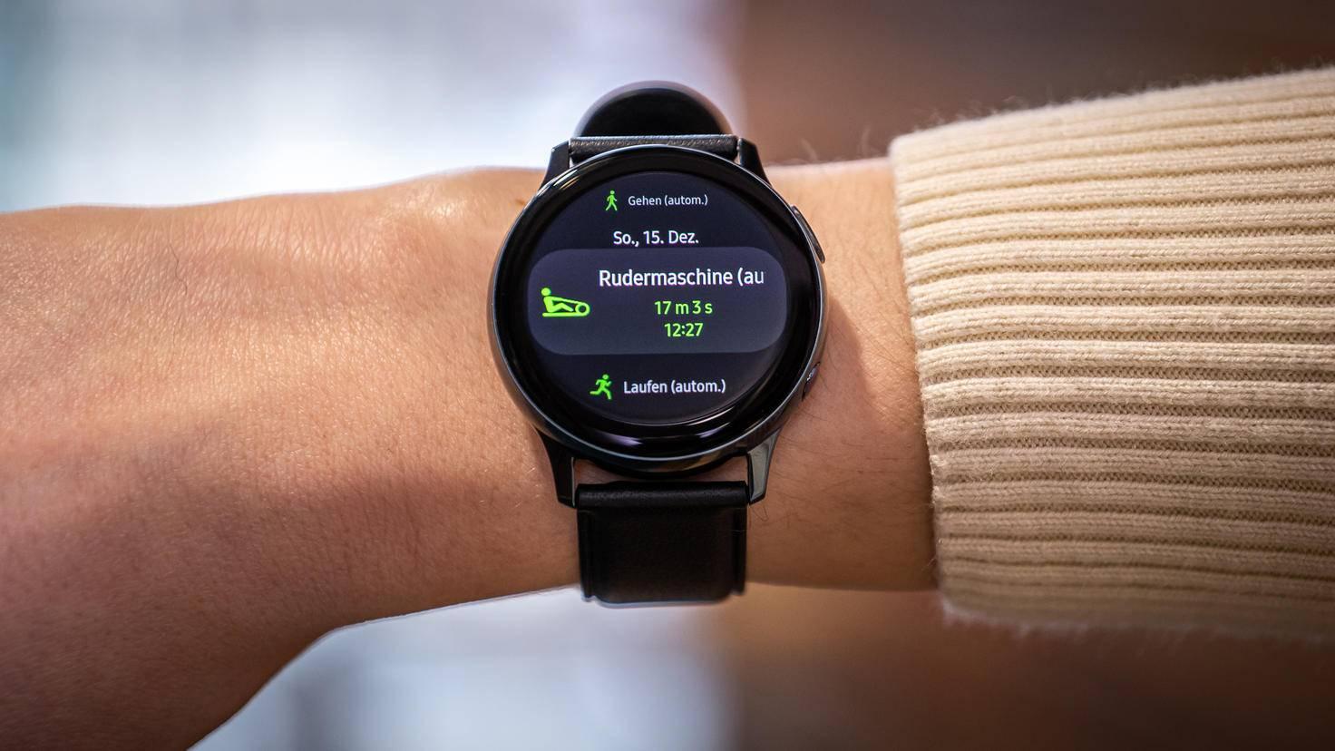 Samsung Galaxy Watch Active 2: Workout-Erkennung