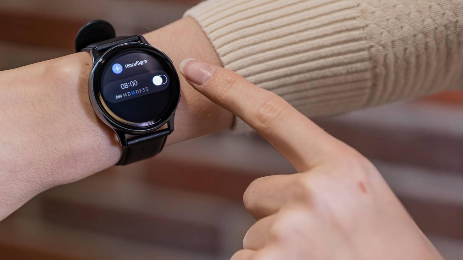 Samsung Galaxy Watch Active 2: Wecker