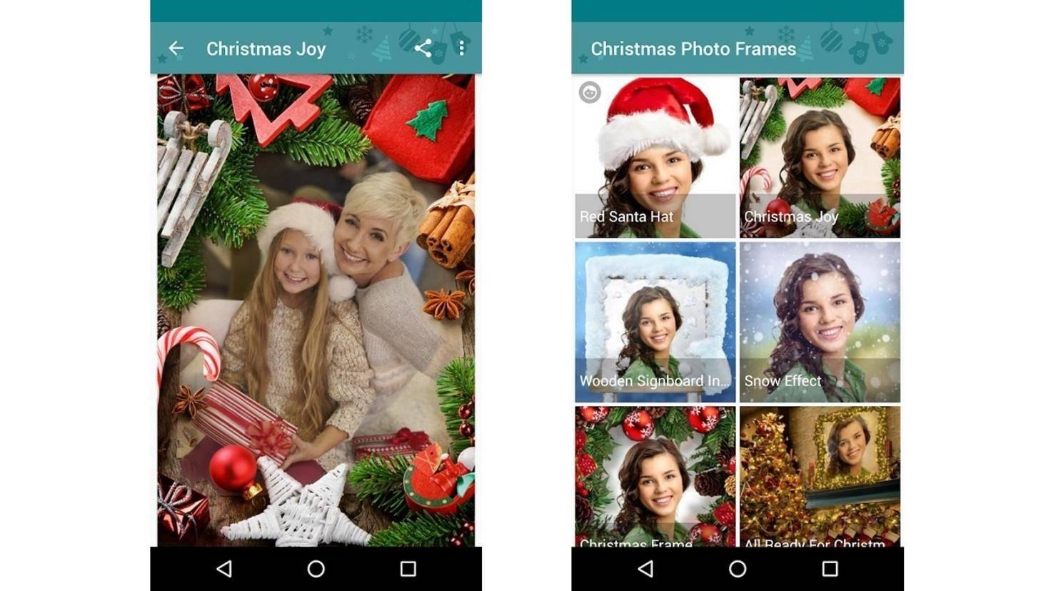 Weihnachtsbilderrahmen App