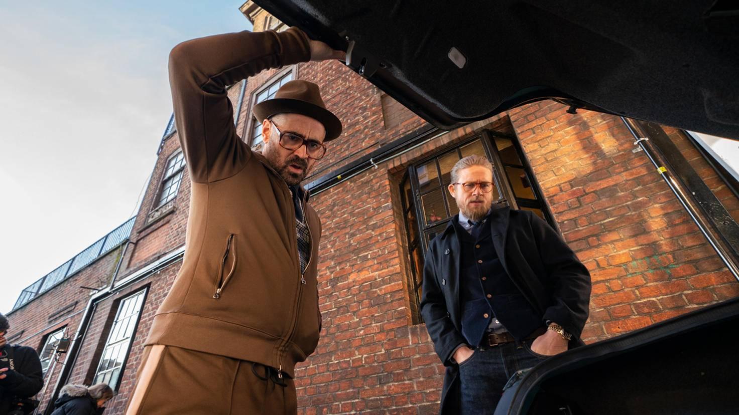 The Gentlemen Colin Farrell und Charlie Hunnam