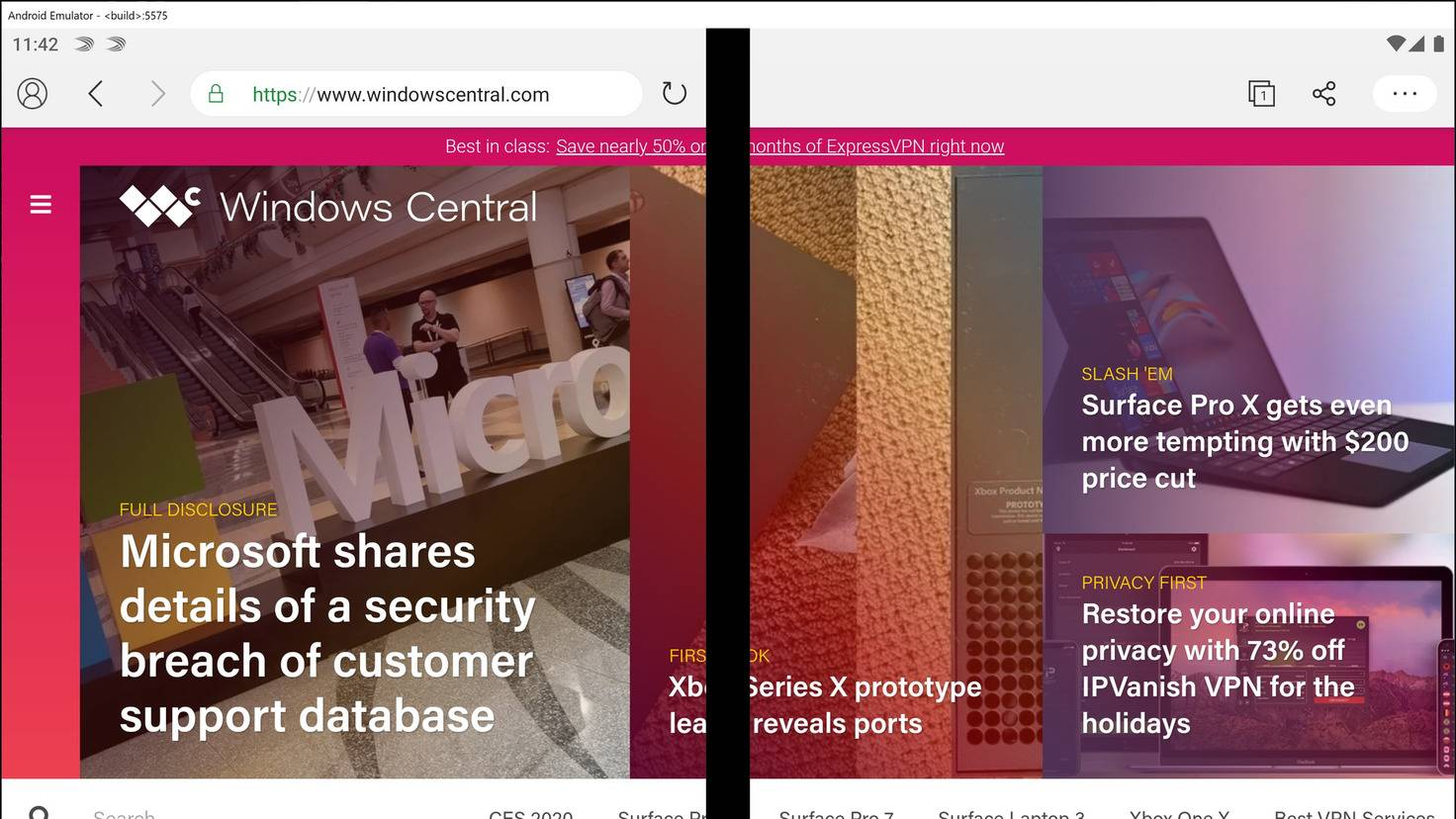 surface-duo-edge-browser