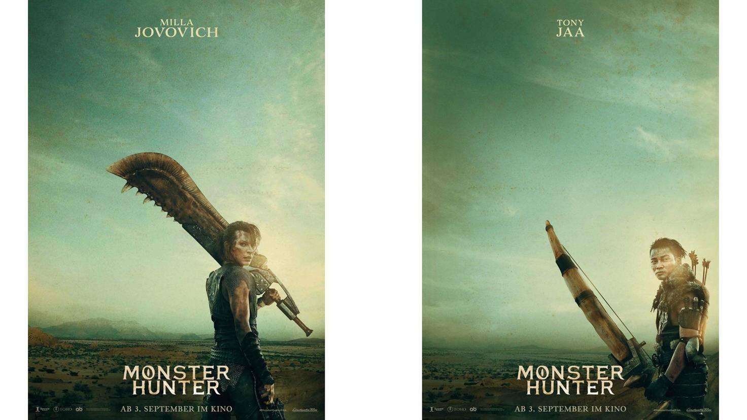 Monster Hunter Milla Jovovich Tony Jaa