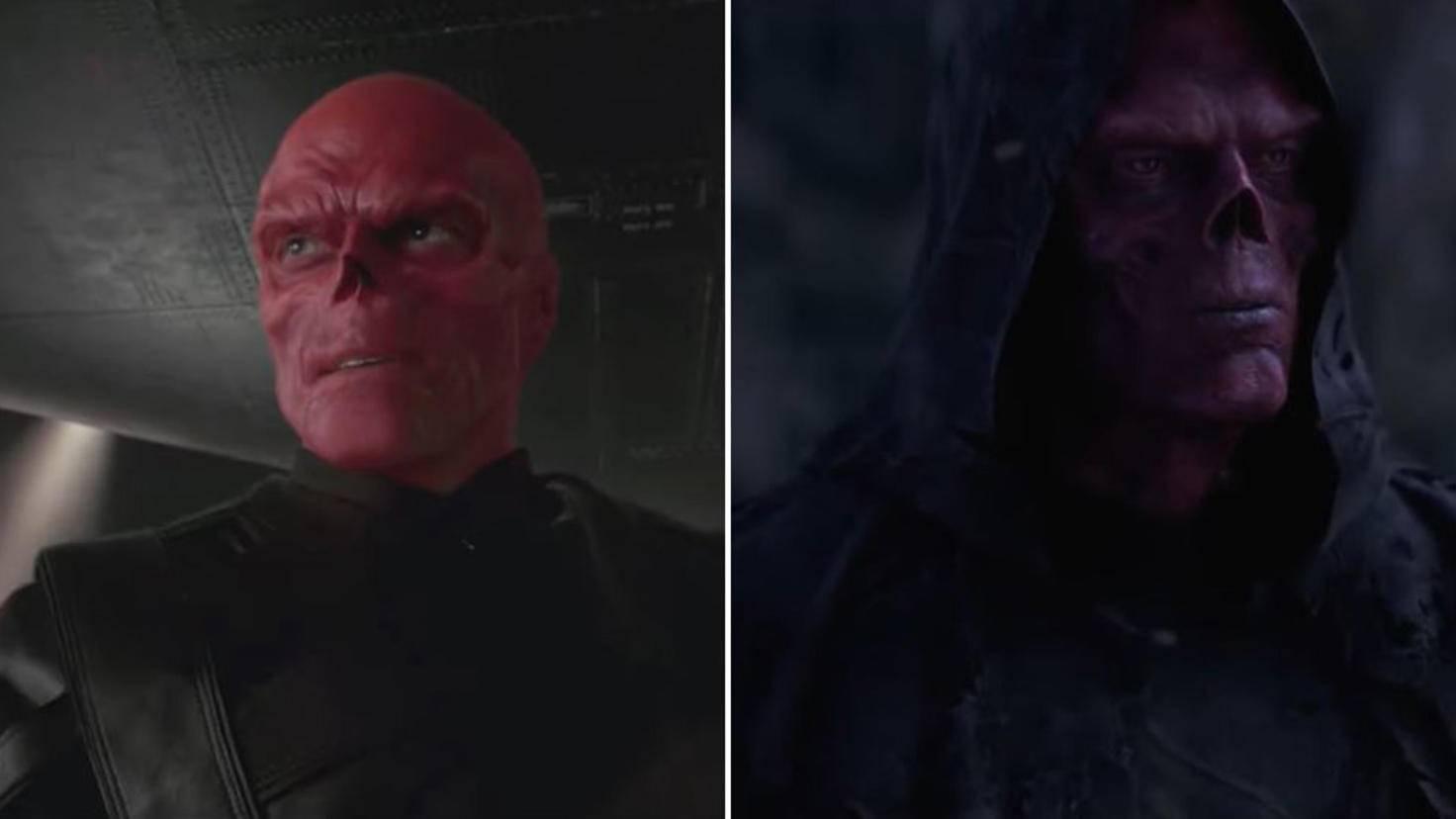 Red Skull Hugo Weaving Ross Marquand