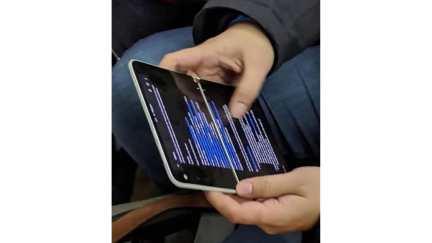 Surface Duo im Hochformat