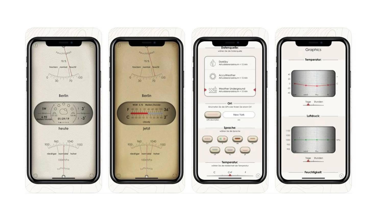 AWS Barometer App