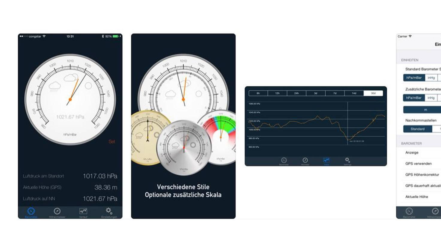 Barometer App