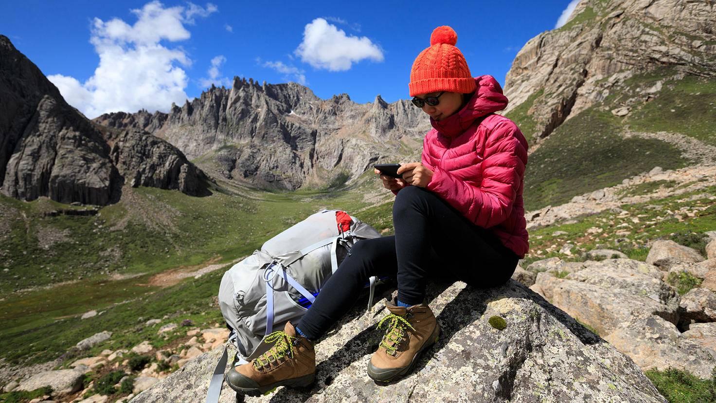Barometer App wichtig Bergsteigen