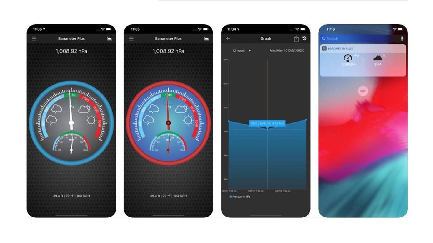Barometer Plus App