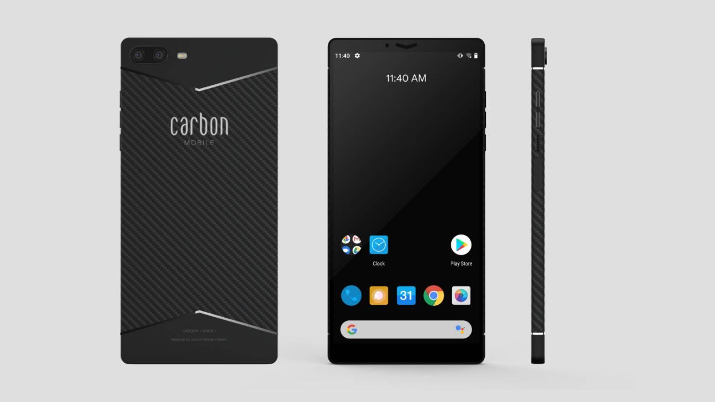 carbon 1 mk2 von allen seiten