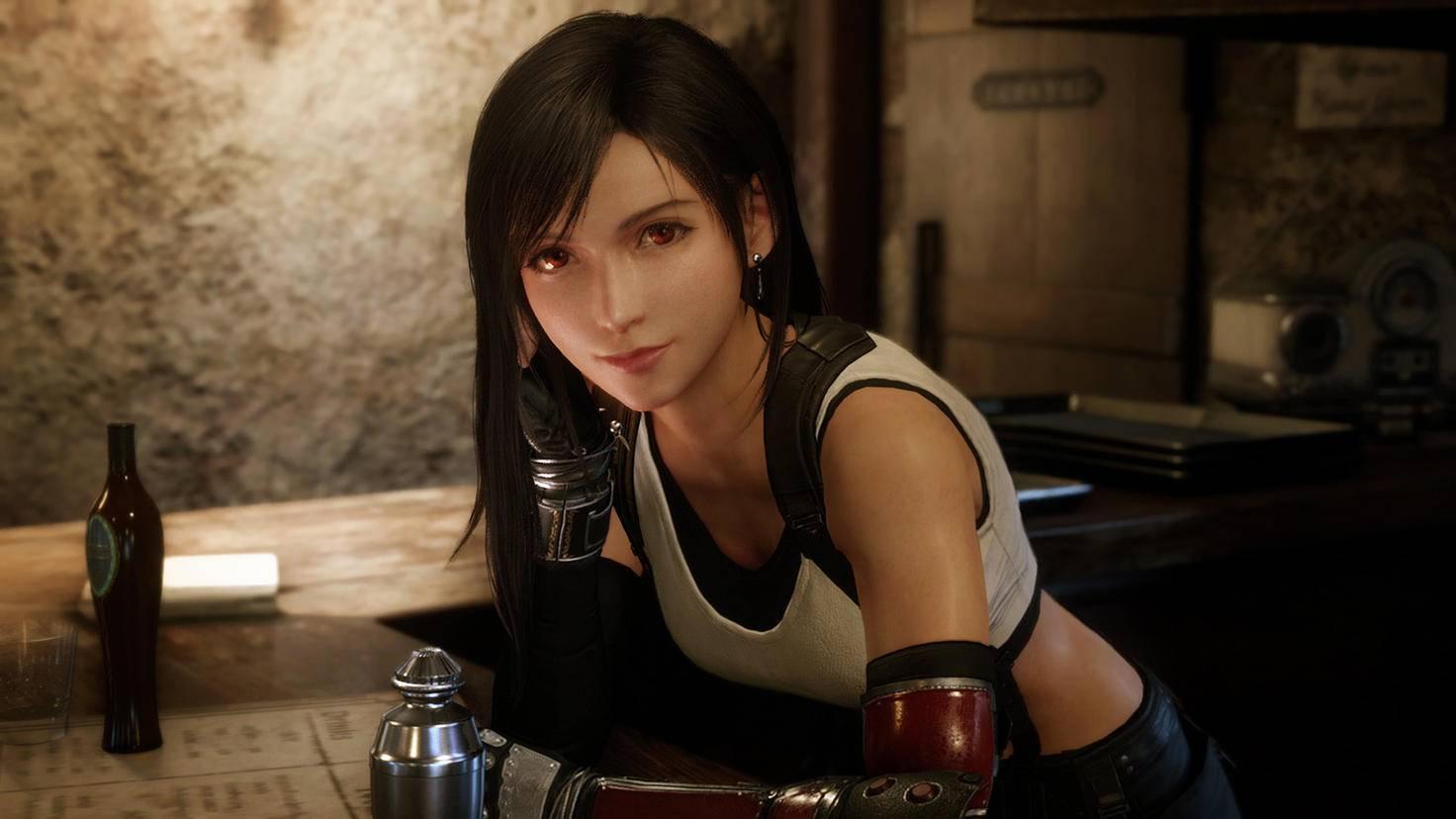 Final Fantasy 7 Remake Tifa