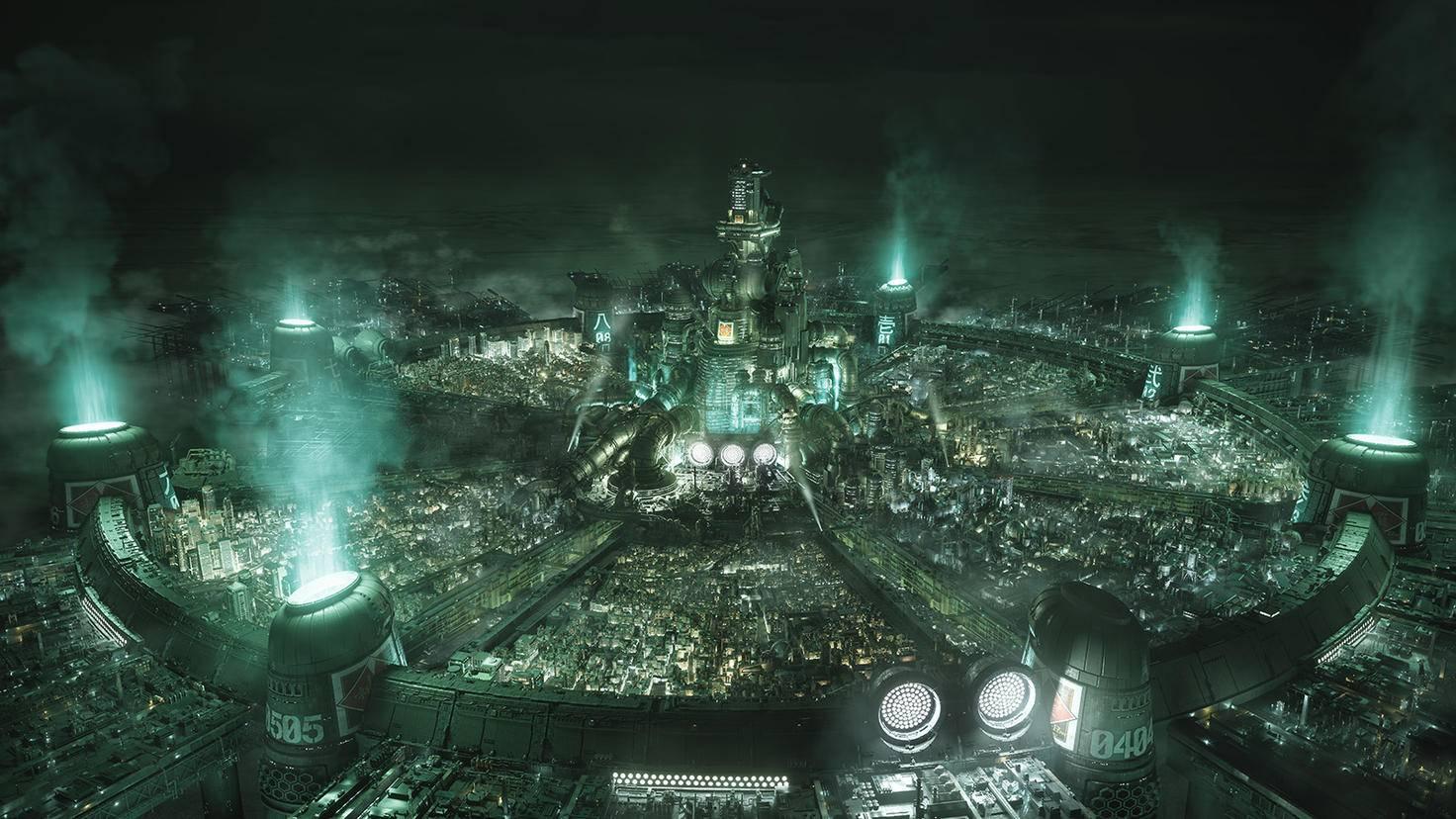 Final Fanatasy VII Remake Midgar