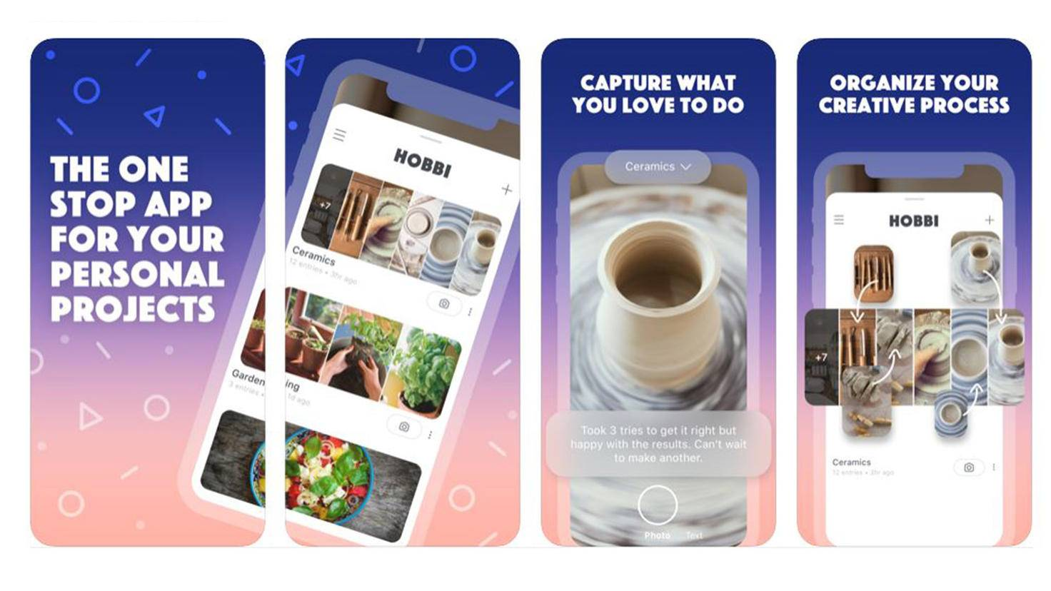 Hobbi App im App Store