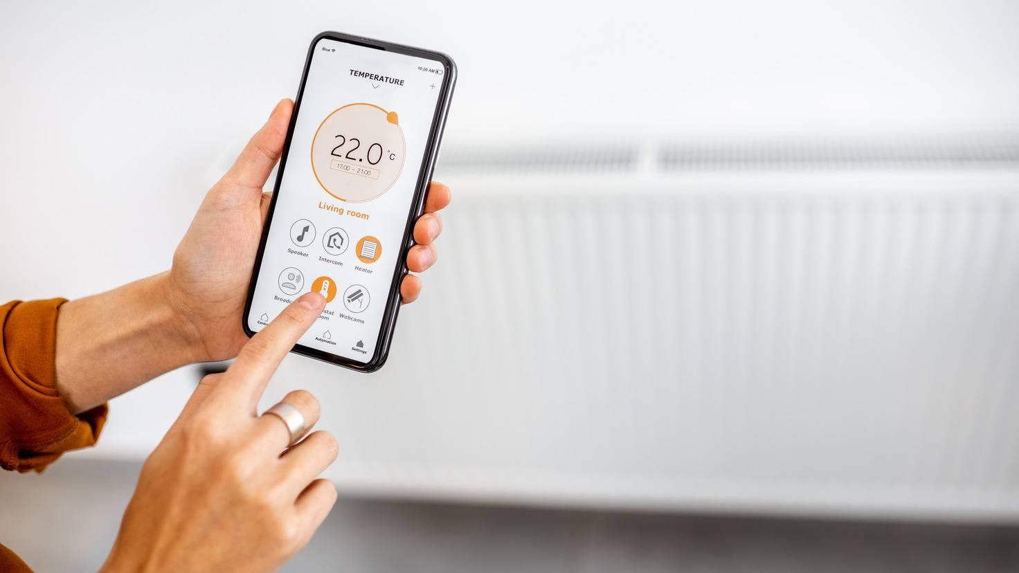 smartphone-handy-temperatur-grad-smart-home