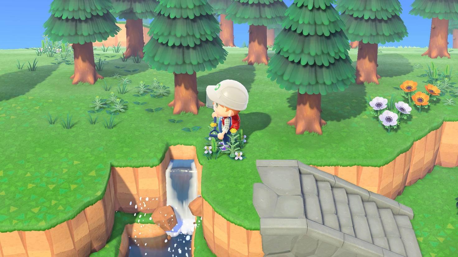 Animal Crossing New Horizons Treppe