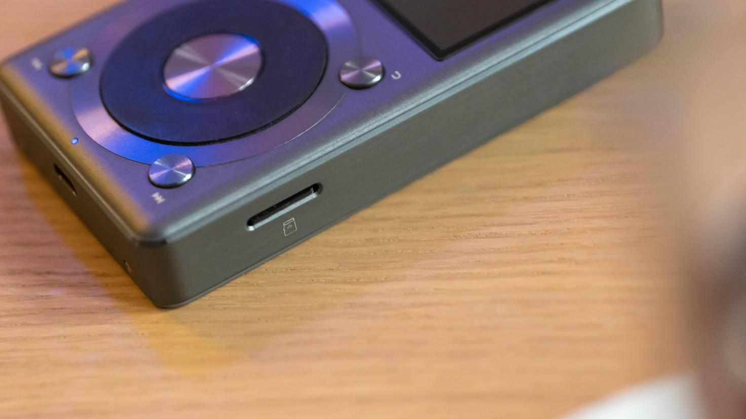 Fiio X3 II microSD-Karte