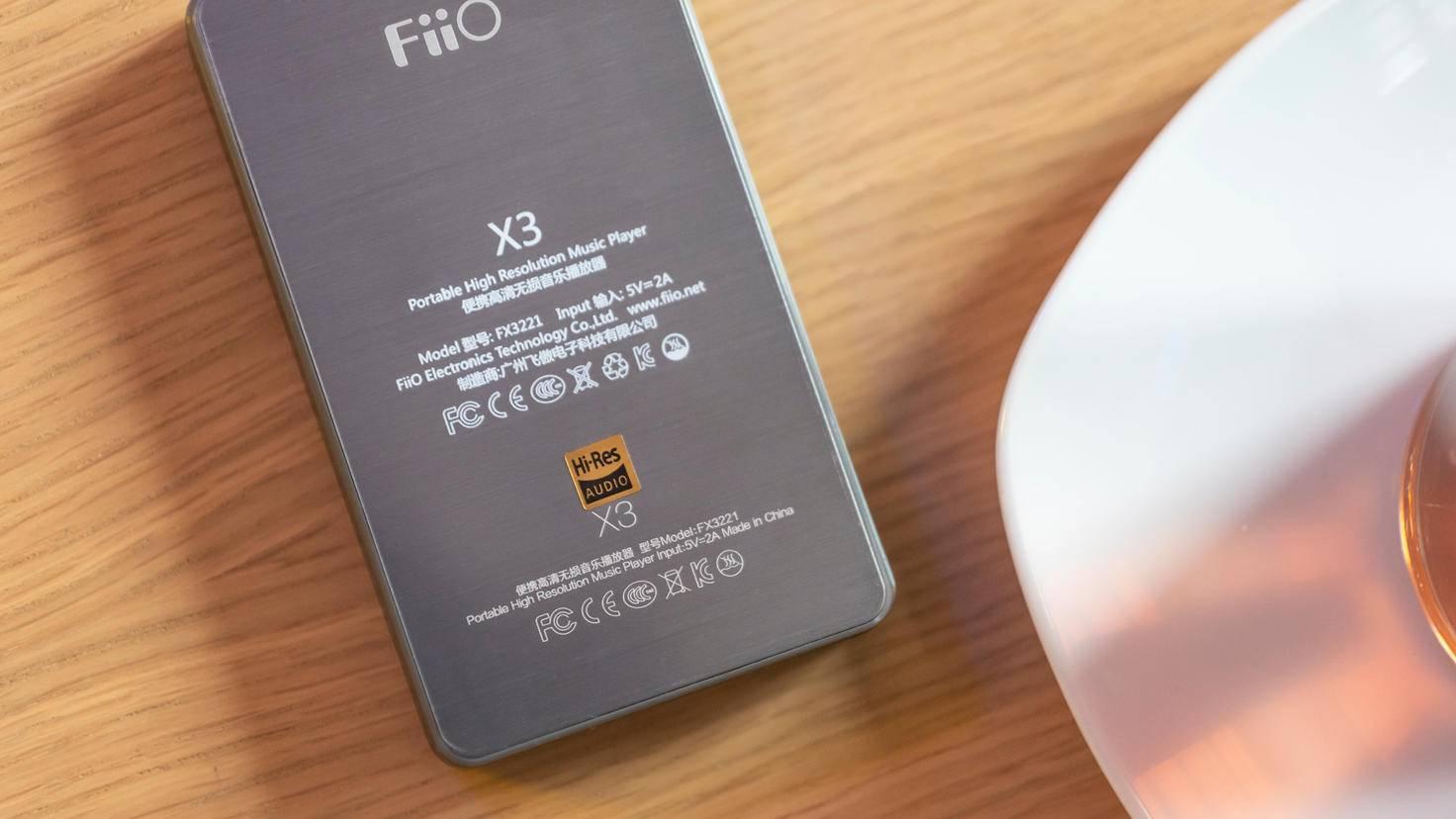 Mein Hi-Res-zertifizierter FiiO X3 II klingt nicht wegen Hi-Res gut.