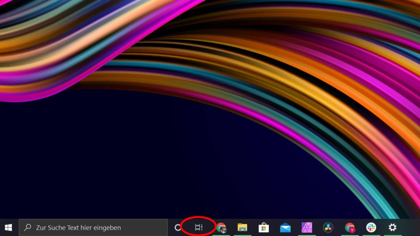 Desktop aktive anwendungen