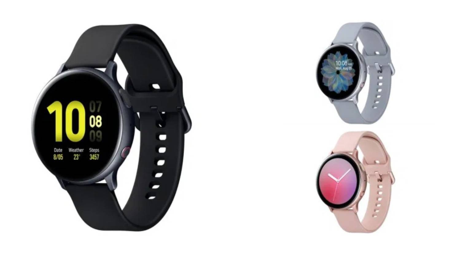 Galaxy Watch Active 2 LTE Aluminium