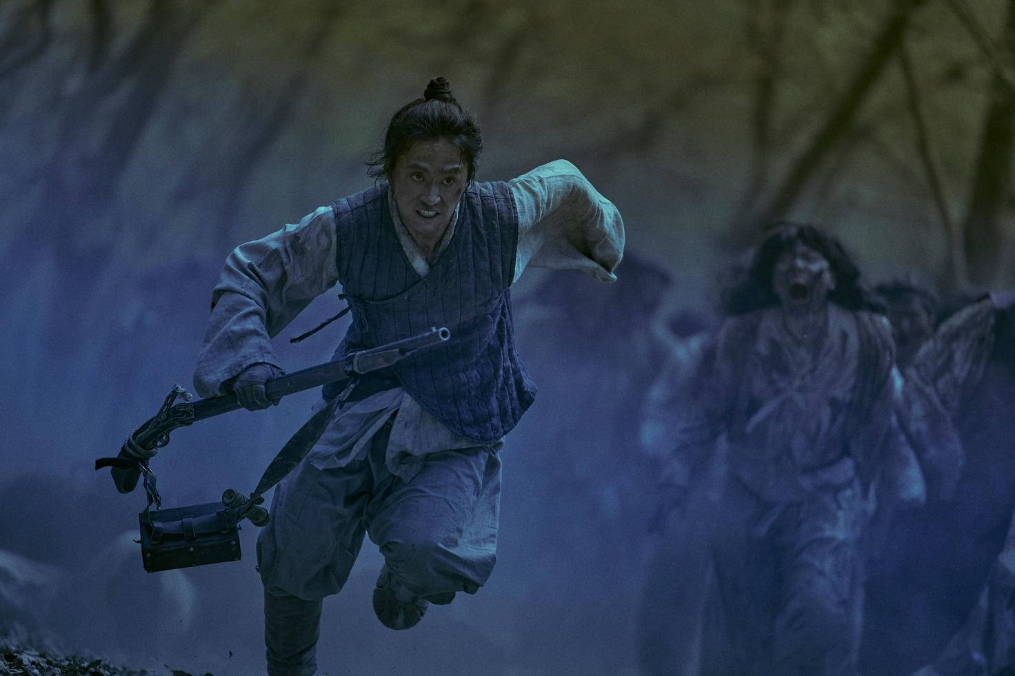 """Yeongsin schießt sehr gut, ist kein Fan der Herrscherklasse und die coolste Sau in """"Kingdom""""."""