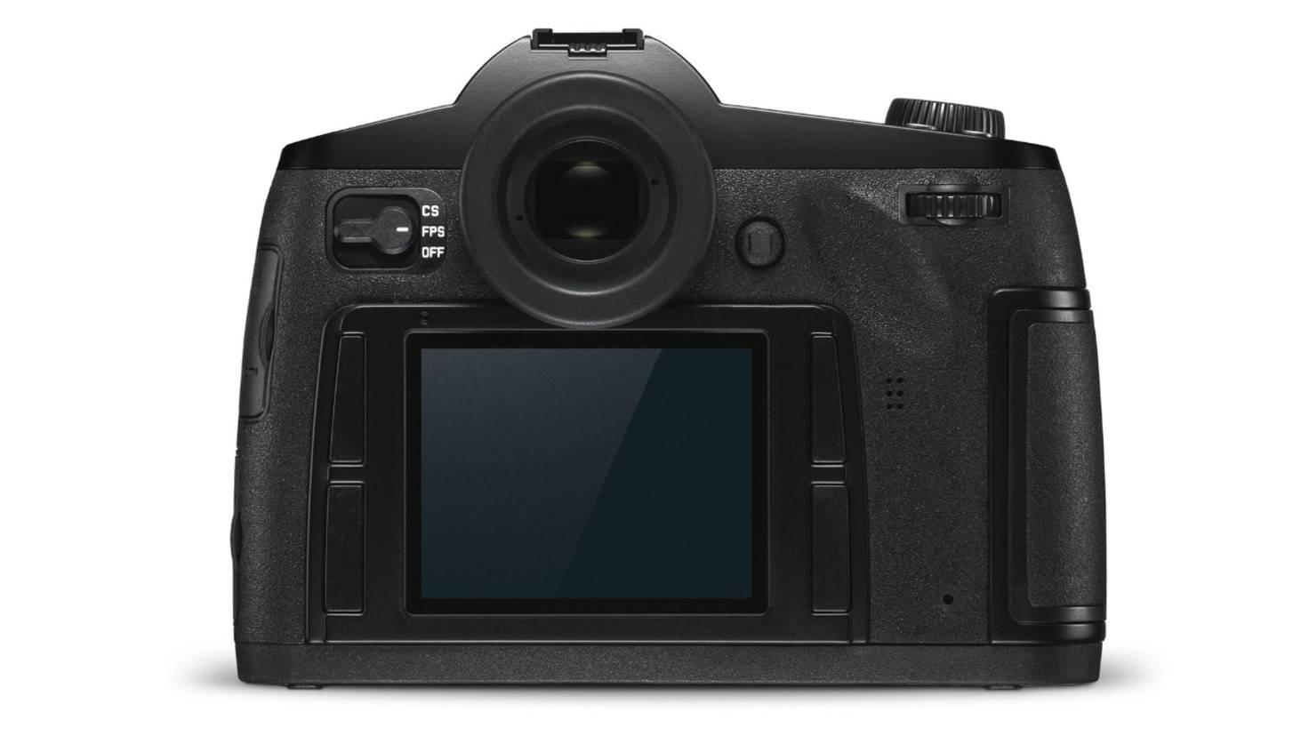 Leica s3 hinten