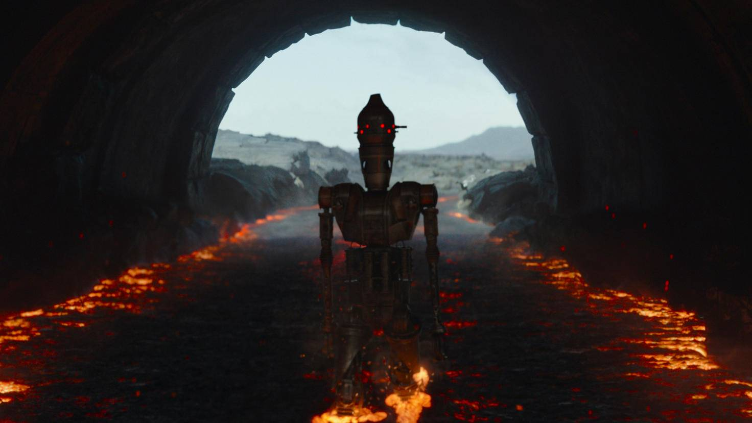The Mandalorian IG-11 Taika Waititi S01E08