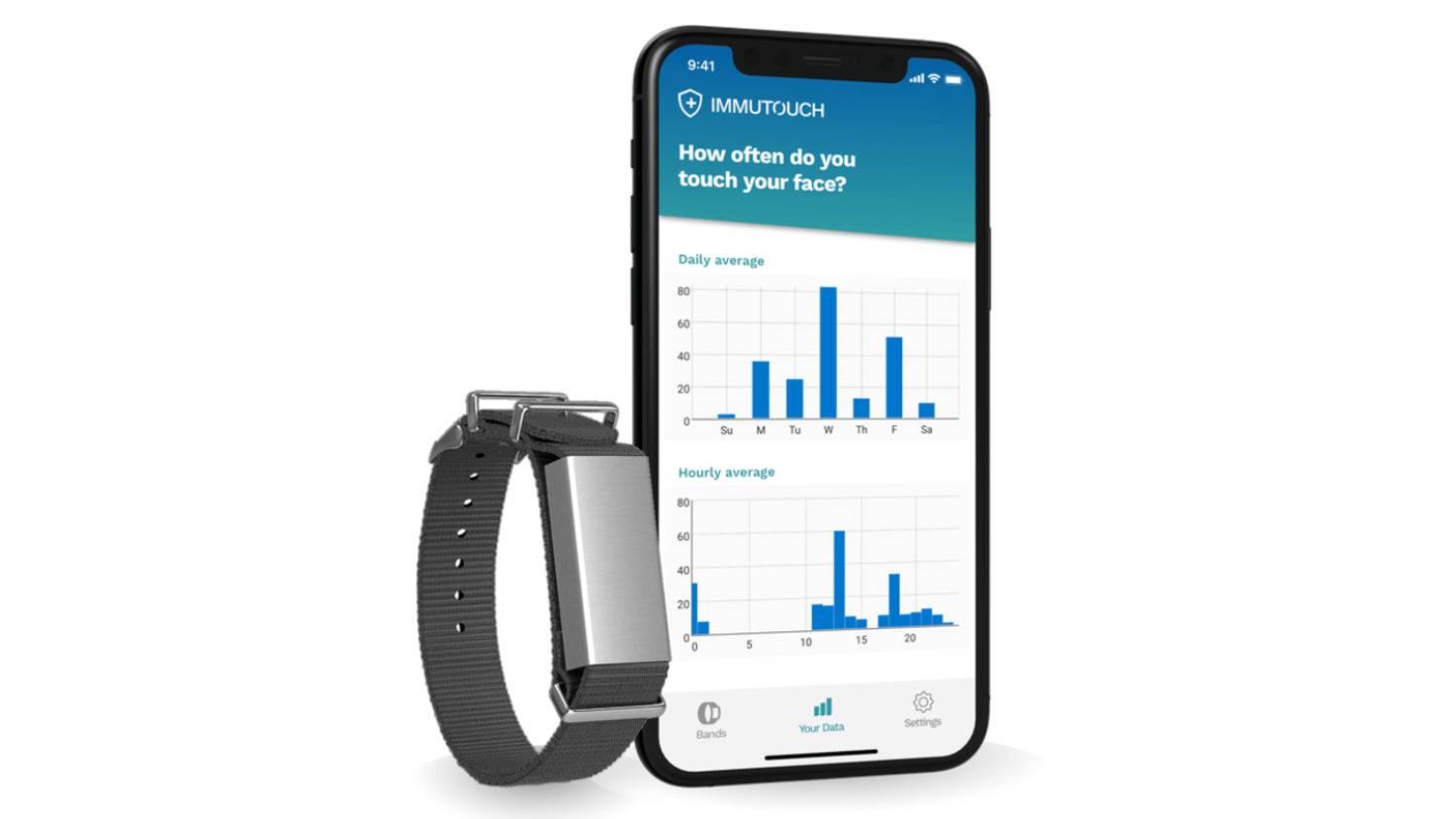 immutouch app und armband