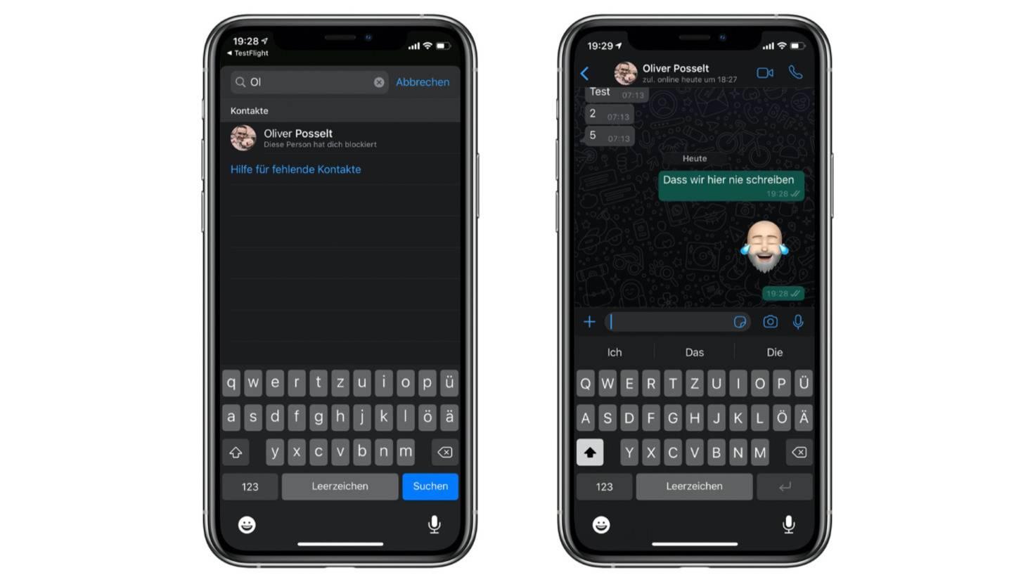 Dunkelmodus Bei Whatsapp