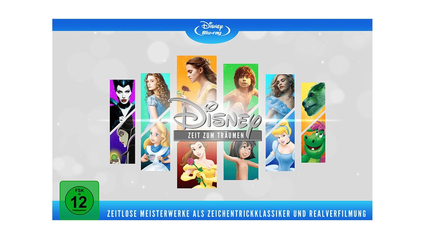 Disney Blu-ray-Box Realverfilmungen