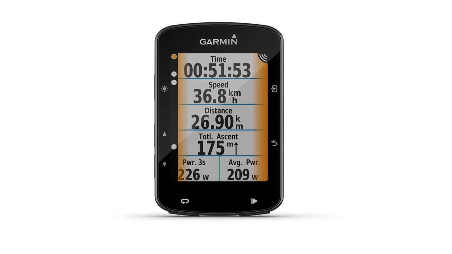 Fahrradnavi Garmin Edge 520 Plus