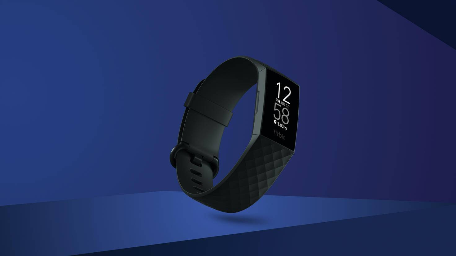 Fitbit Charge 4 Schwarz Screen