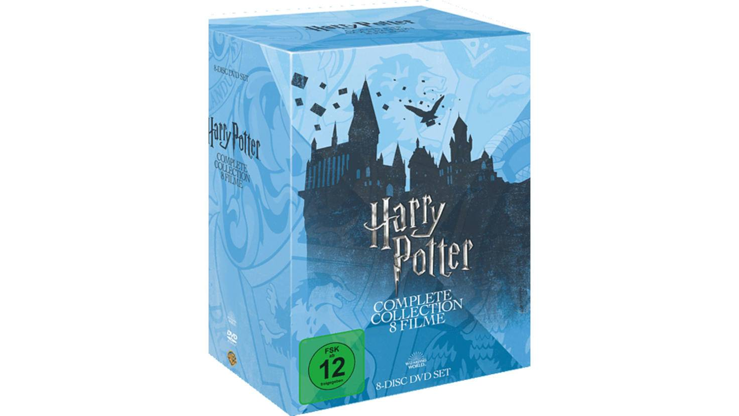 Harry Potter Complete-Collection DVD